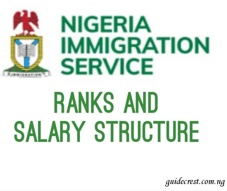 Nigerian immigration salary and ranks